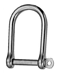 Stainless steel shackles width