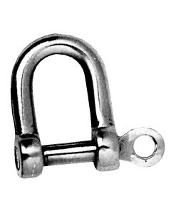 Stainless steel shackles with axis captive straight