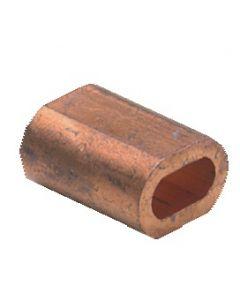 Copper sleeve Ø 3 mm, per 4
