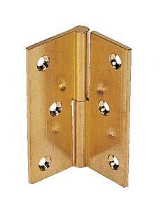 Flap hinge polished brass