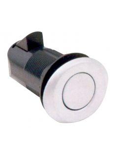 Point Push Lock Oval chromed