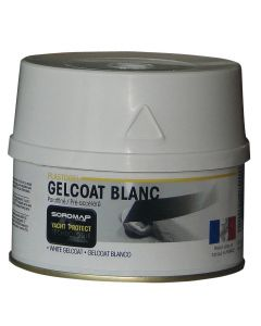 Gelcoat white accelerated paraffin