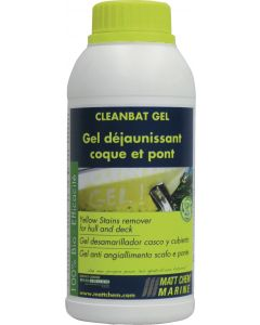 """""""CLEANBAT GEL"""" Gelcoat yellow stains and rust remover"""