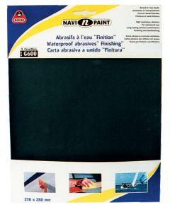 Waterproof abrasive sheet