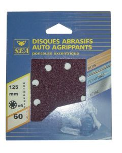 Abrasive discs Ø 125