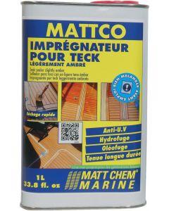 """""""MATTCO"""" teak sealer"""