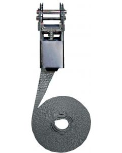 Ratchet lashing strap simple model 25mm, L : 5m, R : 1000Kg