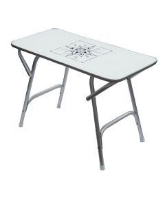 Foldable table rectangular