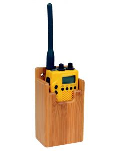 GPS and VHF support 68x140x45mm in Bamboo