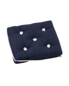 Kapok blue cushion