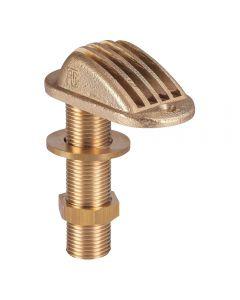 Thru hull strainer brass