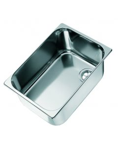Inox sink rectangular
