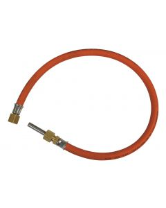 Flexible gas pipe Connection G1/4 - stainless steel end 8 mm
