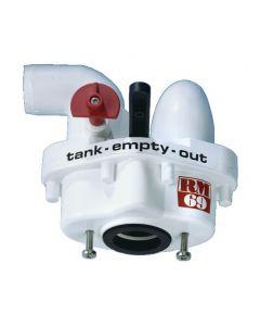 3 way angled output for RM69 valve