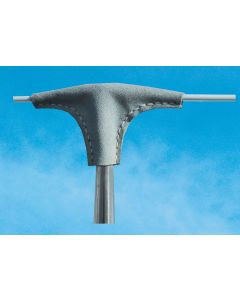 Leather stanchion head protection