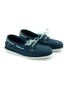 Leather Crew shoes Marine Female