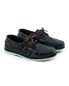 Leather Crew shoes Brown Male