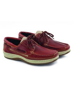 Sport shoes leather Brown Male