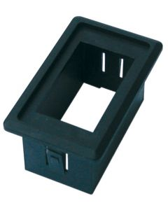 Sealed plastic switch support simple