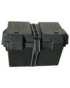 Reinforced battery box
