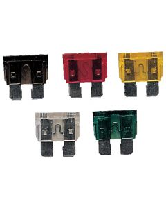 Plug in fuses 6 To 32 v Standard size - 6.35 mm