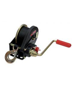 Brake winch with strap