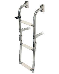 Fold-able ladder for pneumatics 1 + 2 rungs L : 63 cm x w : 22 cm.