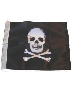 Jolly Roger flag (24 x 30 cm)