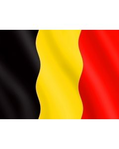 Belgian flag without shield 40 x 50 cm