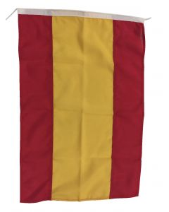 Flag in polyester Spain