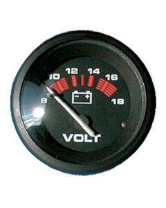 Voltmeter black