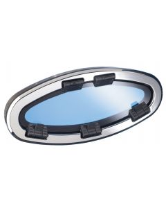 Stainless steel elliptic opening portlights