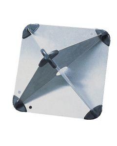 Standard octahedron radar reflector