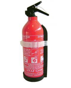 ABC powder extinguisher plastic trigger.