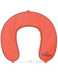 AD orange horseshoe buoy - With removable cover