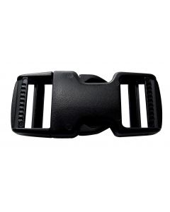 Plastic buckles for strap