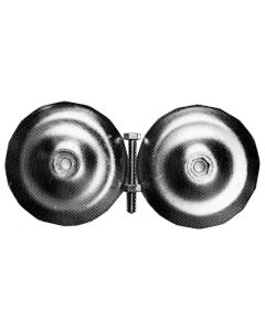 Circular rudder anode