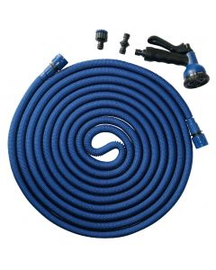 Blue python extendable hose 7.5 to 22.5 m