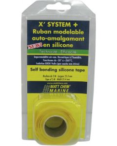 Self-amalgamating tape X SYSTEM+ Colourless - 25.4 mm x 3 m