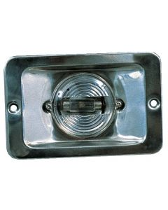 Stainless steel encase-able stern light