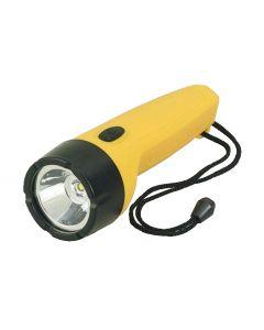 Waterproof flashlight floating