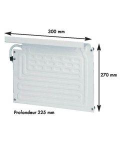 Evaporator fridge max 100 L for BD35F cold group