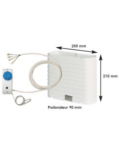 Evaporator fridge max 130L for BD35F cold group
