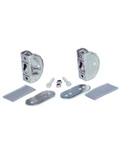 Clevis table mounting pair