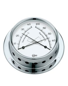 Thermometer Hygrometer 83 polished stainless steel
