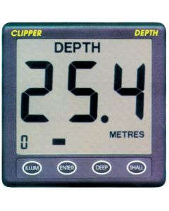 Repeater depth sounder