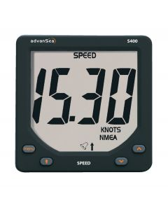 Loch-speedometer with sensor