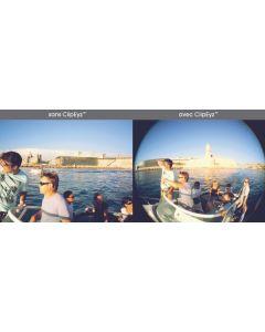 ClipEyz™ 180° wide angle lens