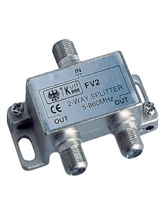 Splitter with 2 TV outputs