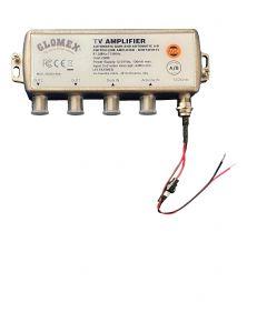 Amplifier 2 outputs